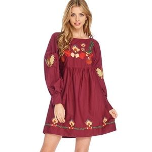 Dresses & Skirts - PreOrder Embroidered Boho Dress